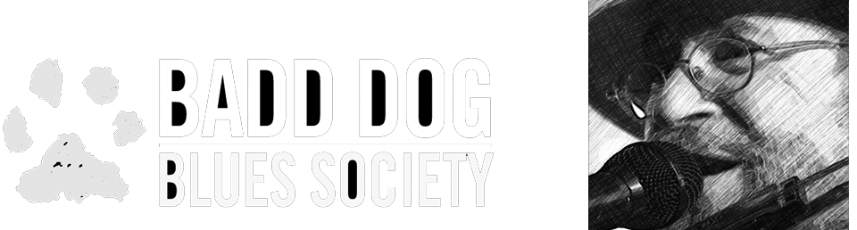 Andy Koch & The Badd Dog Blues Society Logo